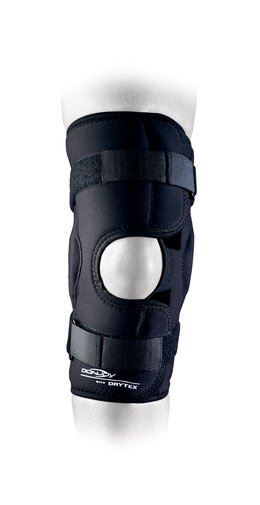 Polvituki sports hinged knee xs-xxl drytex wraparound open