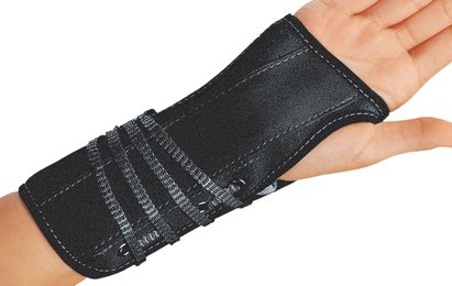Rannetuki Lace-up wrist support 10""